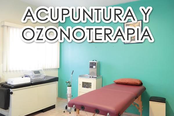 Acupuntura y ozonoterapia